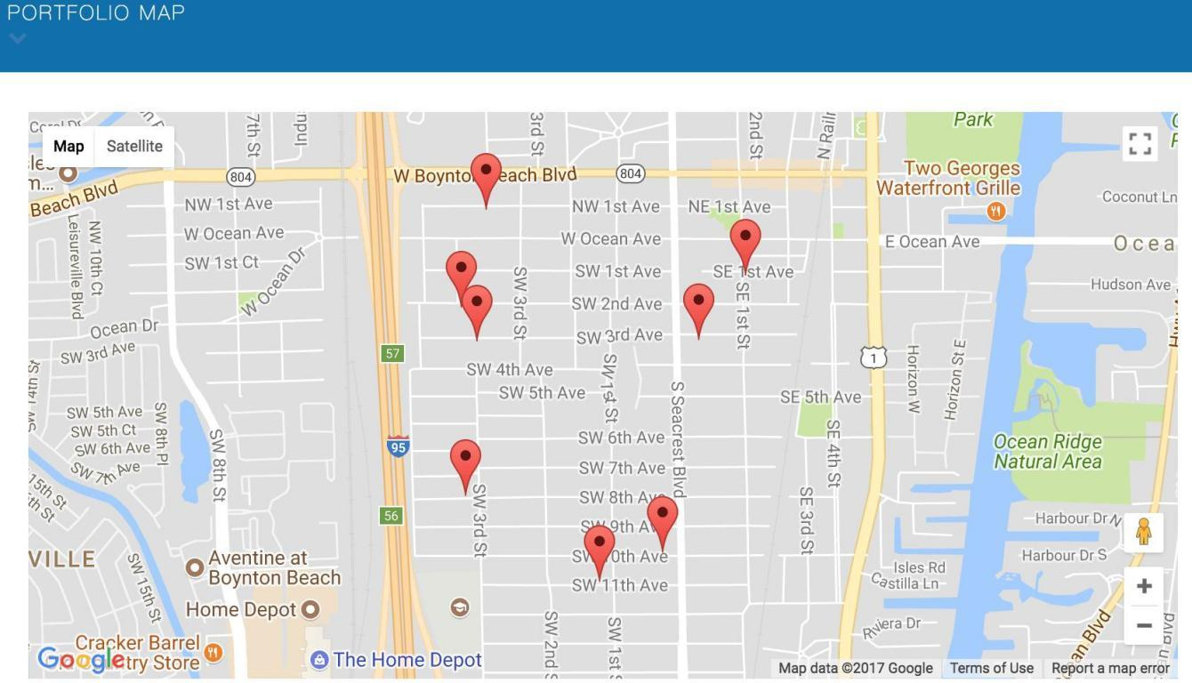 000 Seacrest, Boynton Beach, Fl.| Mls# Rx-10376120 | Jim & Ruth - Sea Crest Florida Map
