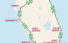 1-Week Florida Road Trip: Miami, The Atlantic Coast, & Orlando – Map Of Florida Naples Tampa