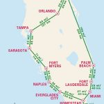 1 Week Florida Road Trip: Miami, The Atlantic Coast, & Orlando   Navarre Beach Florida Map
