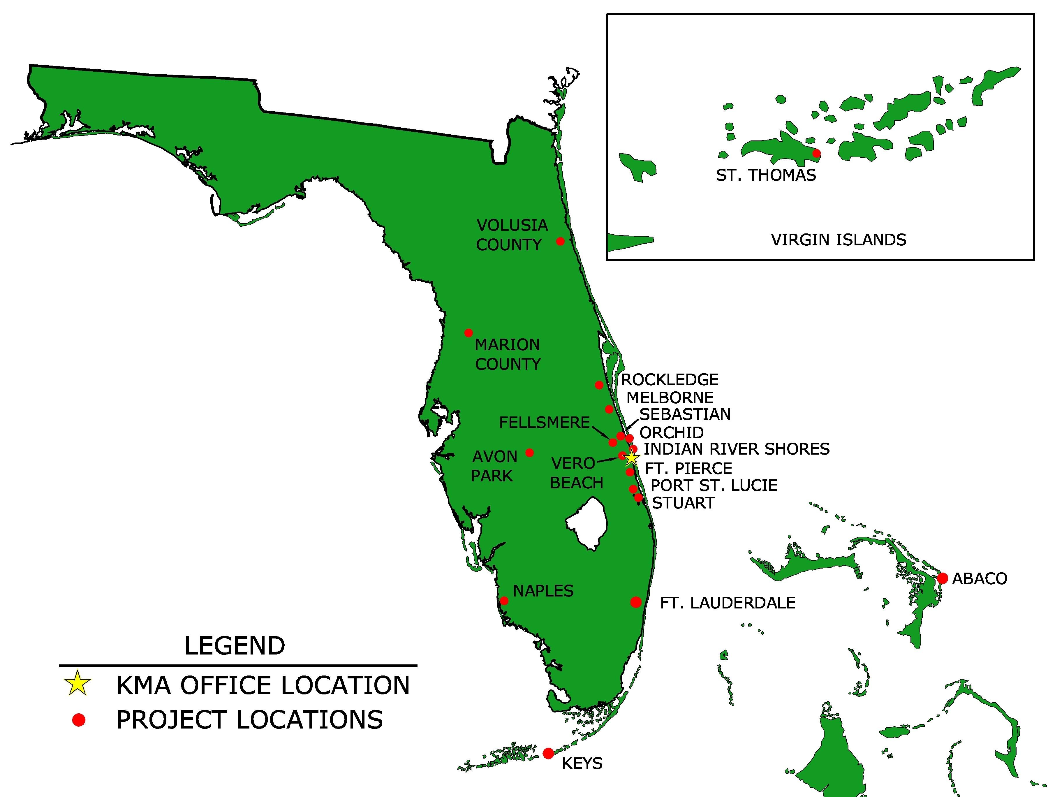 10 Hottest Vero Beach Florida Map 2018 | Beach Destination - Vero Beach Fl Map Of Florida