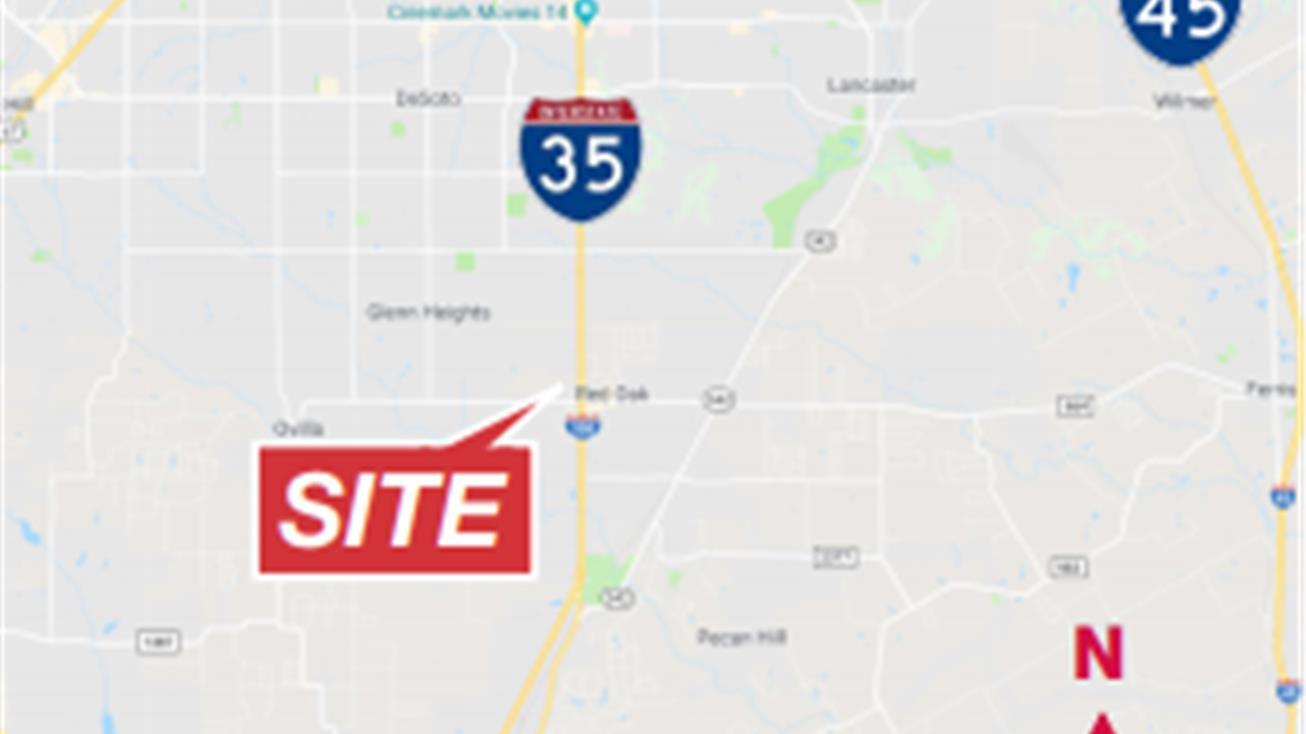 101 Norton Street, Red Oak, Tx 75154 - Land For Sale - 101 Norton Street - Red Oak Texas Map