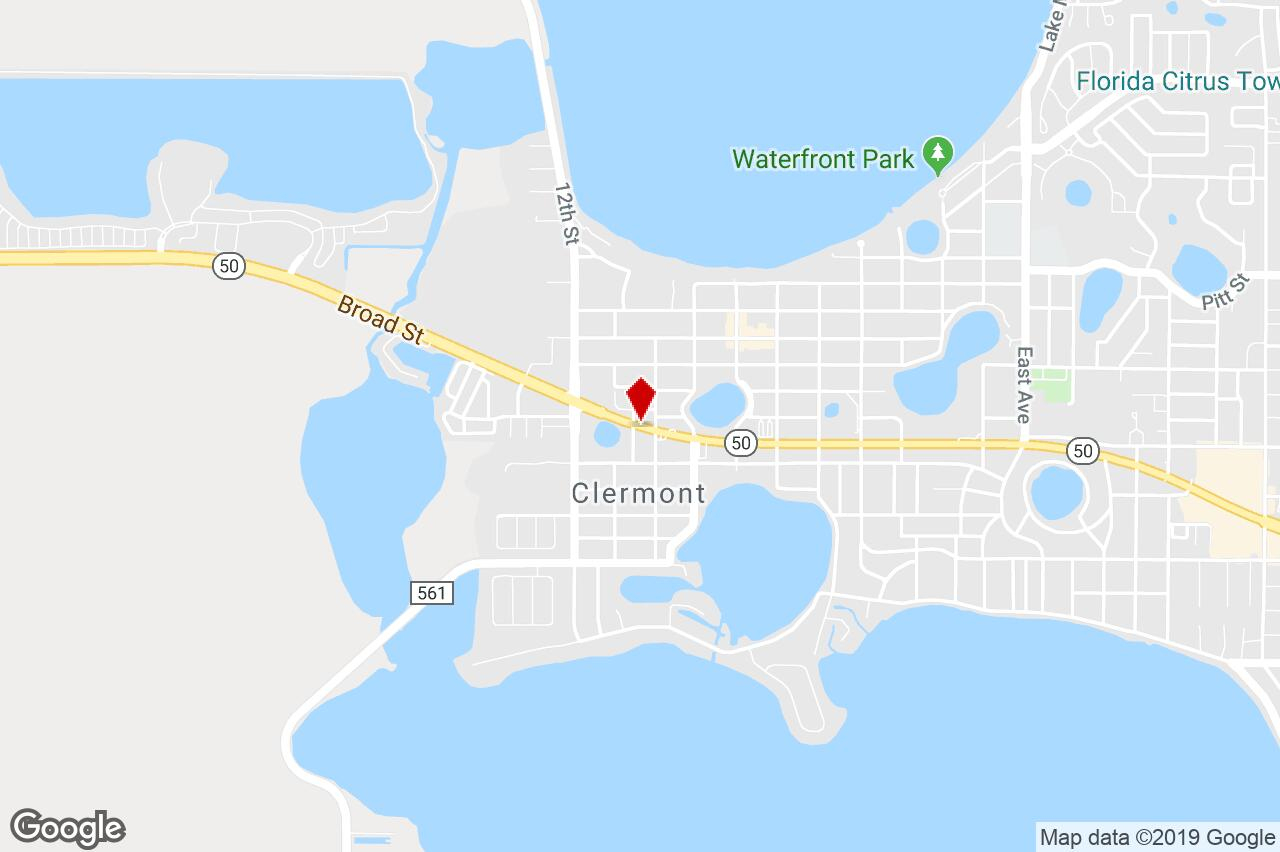 1043 W Highway 50, Clermont, Fl, 34711 - Strip Center Property For - Google Maps Clermont Florida