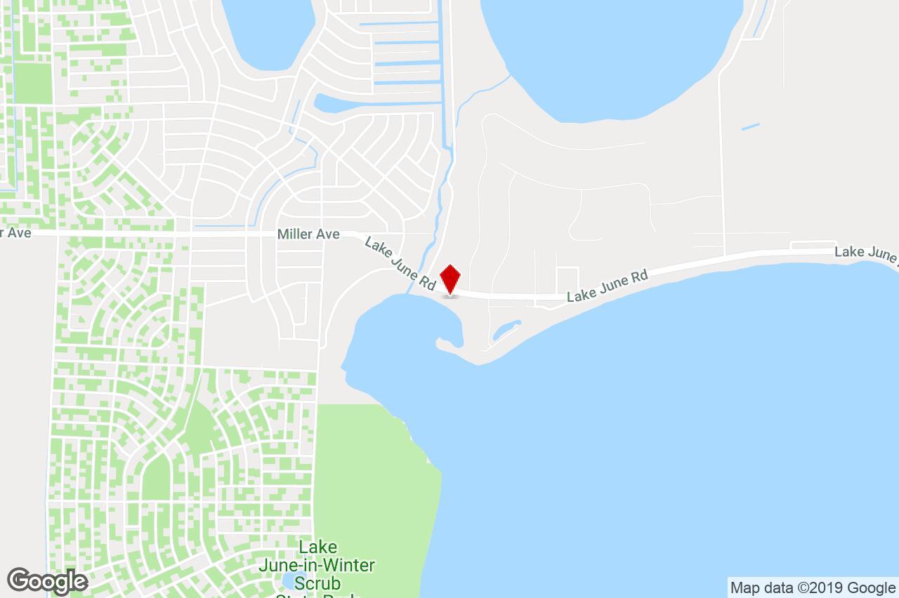 1092 Lake June Rd, Lake Placid, Fl, 33852 - Residential Property For - Lake Placid Florida Map