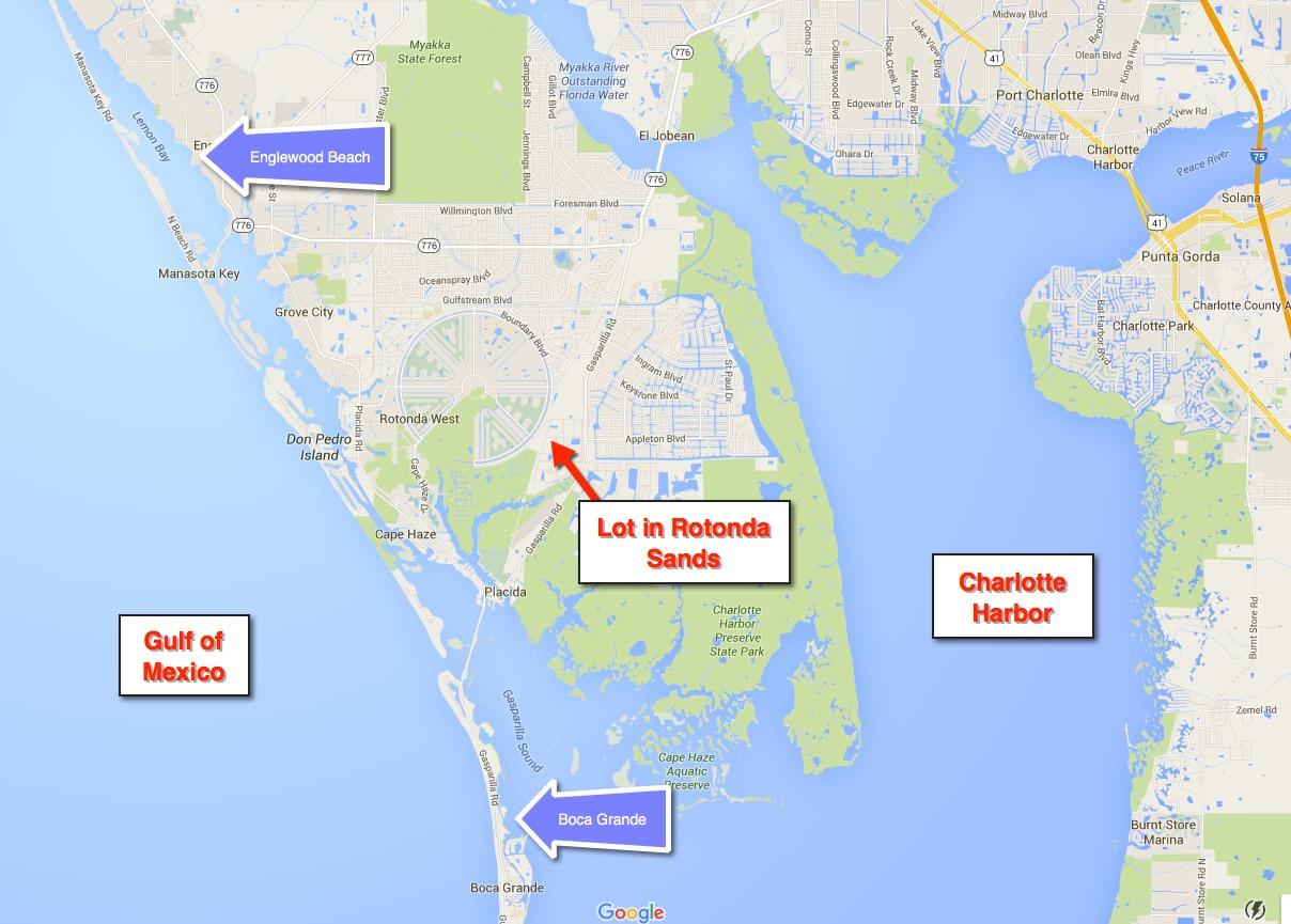 11 Tarpon Ct, Placida, Florida 33946 - Lot Experts - Rotonda Florida Map