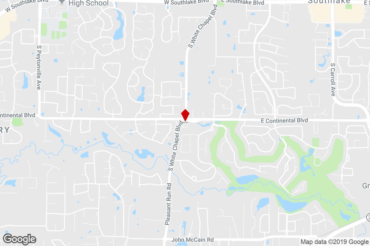 1205 S White Chapel Blvd, Southlake, Tx, 76092 - Property For Sale - Southlake Texas Map