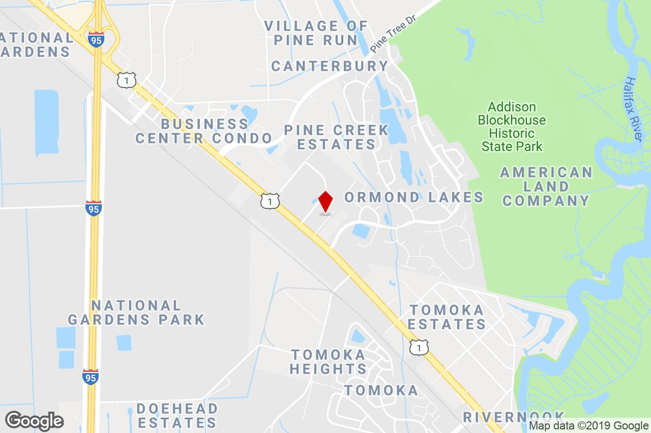 1291 N Us Hwy 1, Ormond Beach, Fl, 32174 - Warehouse Property For - Street Map Of Ormond Beach Florida