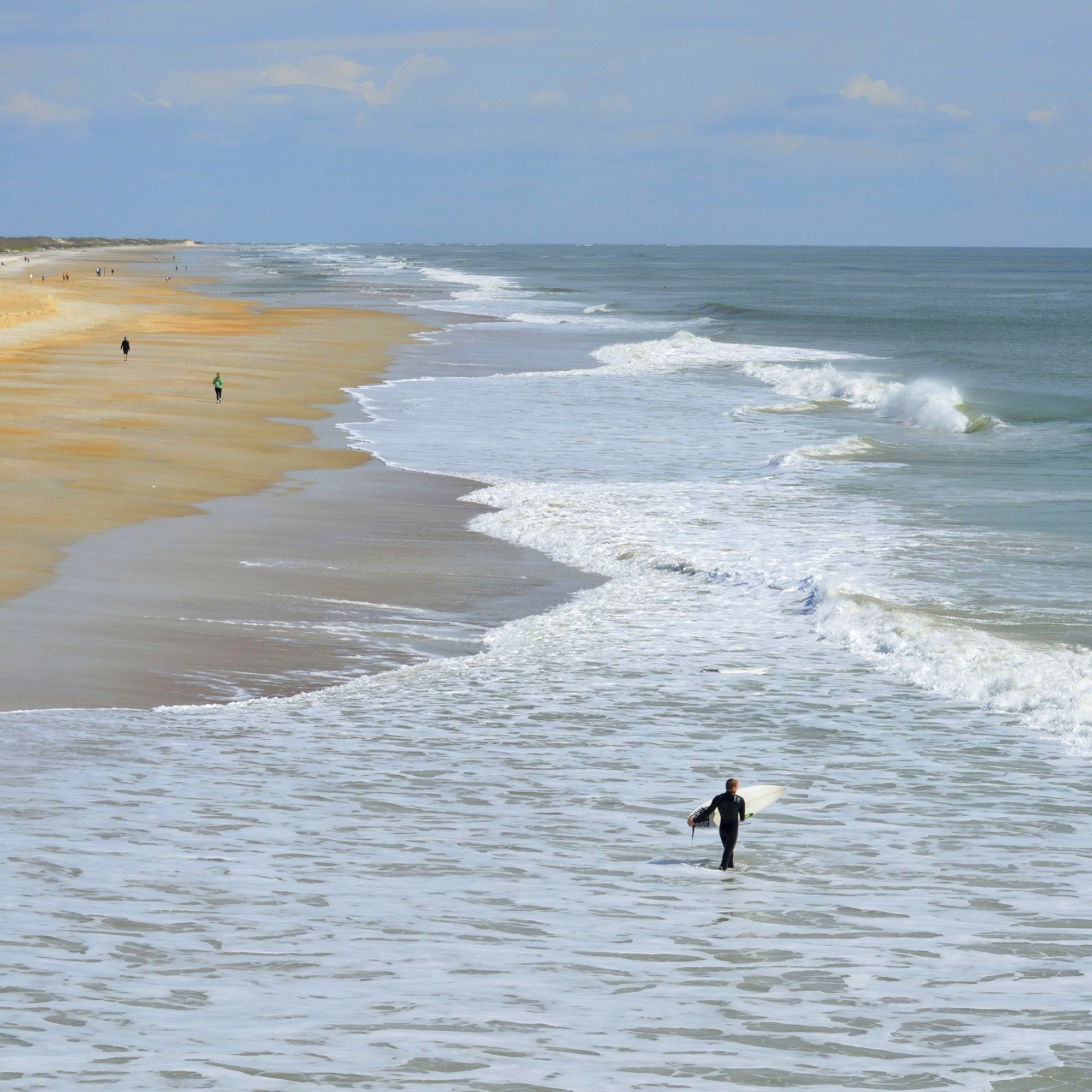 13 Best Places To Surf In Florida - Coastal Living - Best Surfing In Florida Map