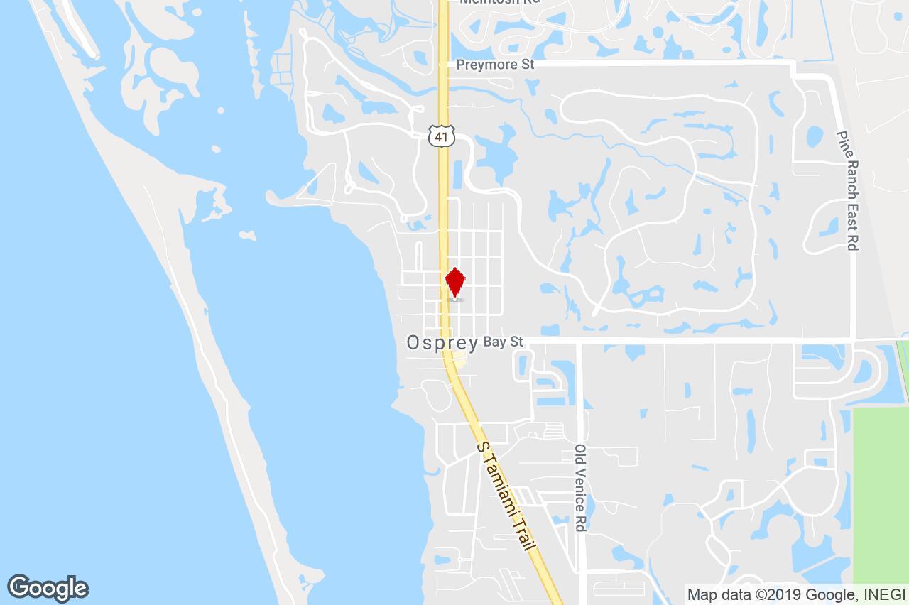 130 N Tamiami Trl, Osprey, Fl, 34229 - Property For Lease On Loopnet - Osprey Florida Map