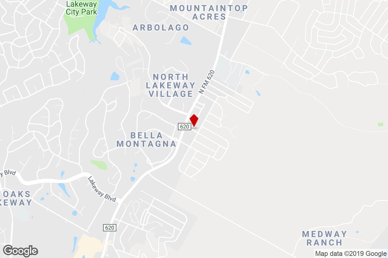 15304 Pheasant Lane, Austin, Tx, 78734 - Office Showroom Property - Lakeway Texas Map