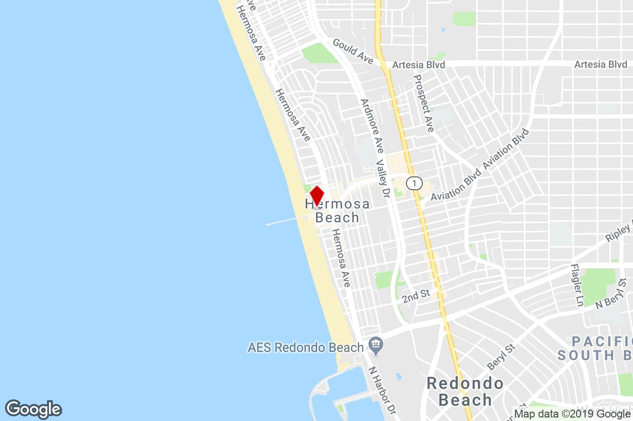 19-31 Pier Ave, Hermosa Beach, Ca, 90254 - Storefront Property For - Hermosa Beach California Map