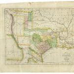 190Th Anniversary Of The Constitution Of The Free State Of Coahuila   Texas Land Office Maps