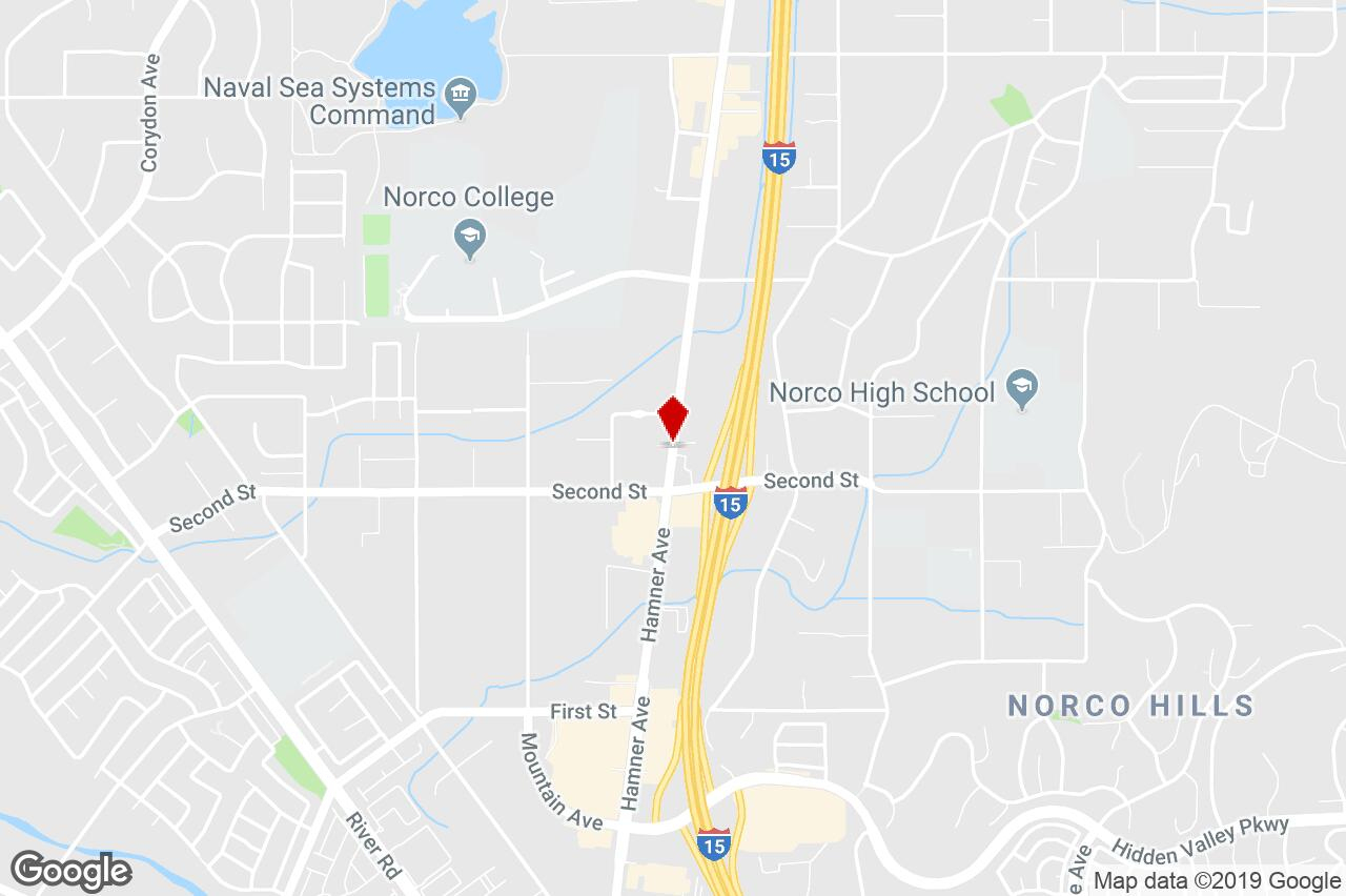 1983 Hamner Ave, Norco, Ca, 92860 - Retail (Other) Property For Sale - Norco California Map