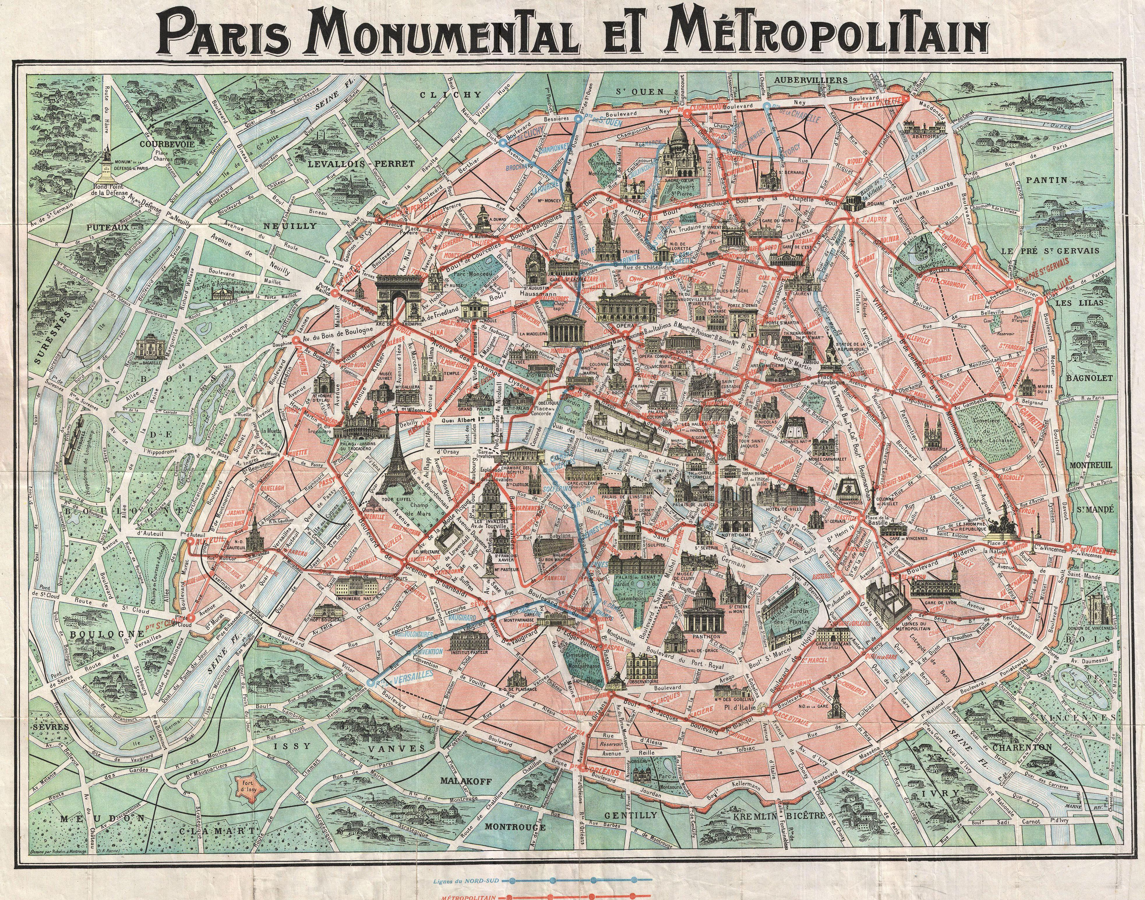 20 Free Vintage Map Printable Images | Remodelaholic #art - Free Printable Map Of Paris