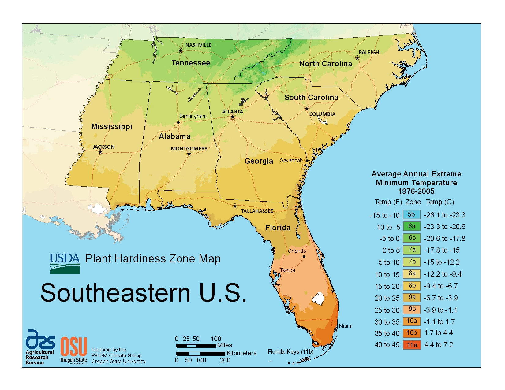 2012 Plant Hardiness Zone Map - Backyard Getaway - Plant Zone Map Florida
