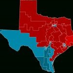 2012 United States House Of Representatives Elections In Texas   Texas Representatives District Map