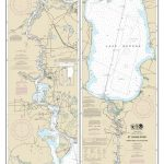 2013 Map Of St Johns River & Lake George Florida   Etsy   Lake George Florida Map