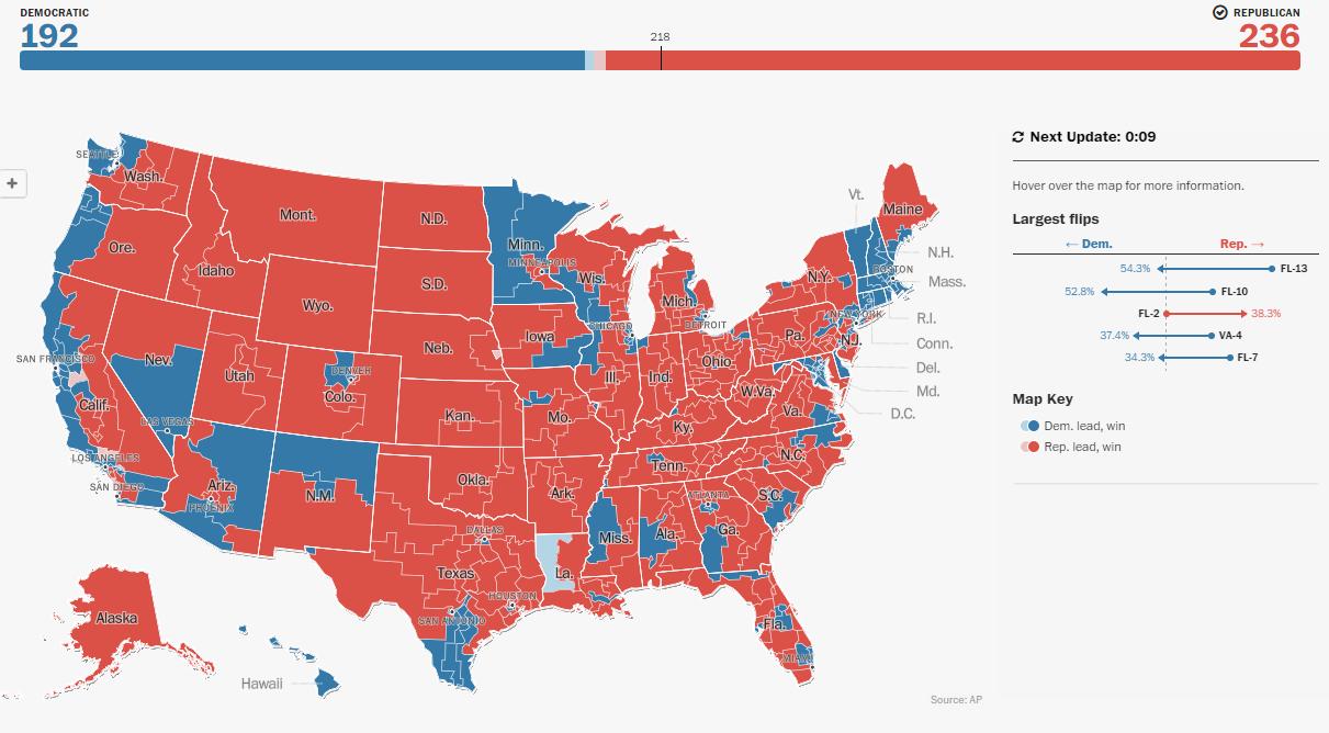 2016 House Of Representatives Map | Political Maps - Florida House Of Representatives Map