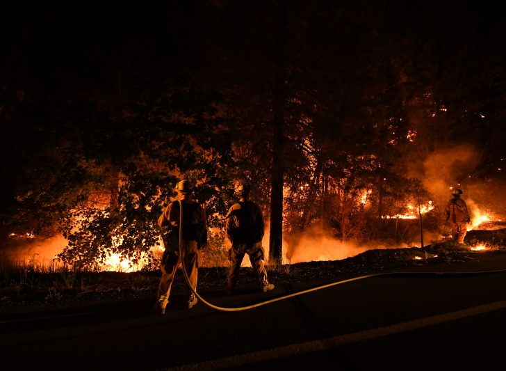 Show Me A Map Of California Wildfires