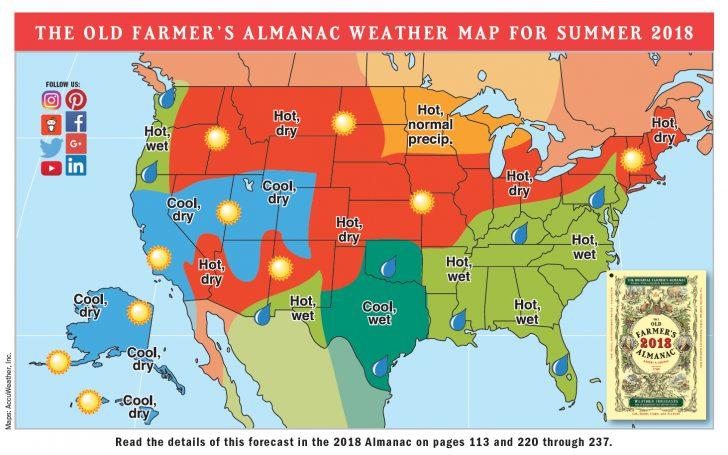 Florida Weather Forecast Map