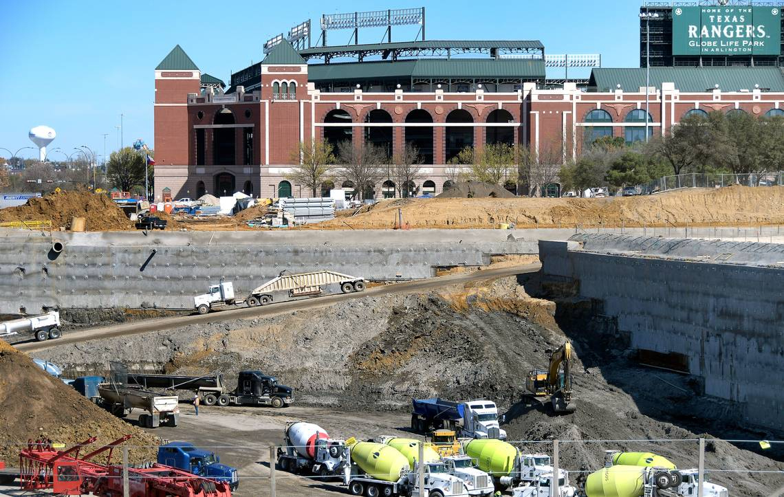 2018 Texas Rangers: Globe Life Parking Lot Information, Rates   Fort - Texas Rangers Stadium Parking Map