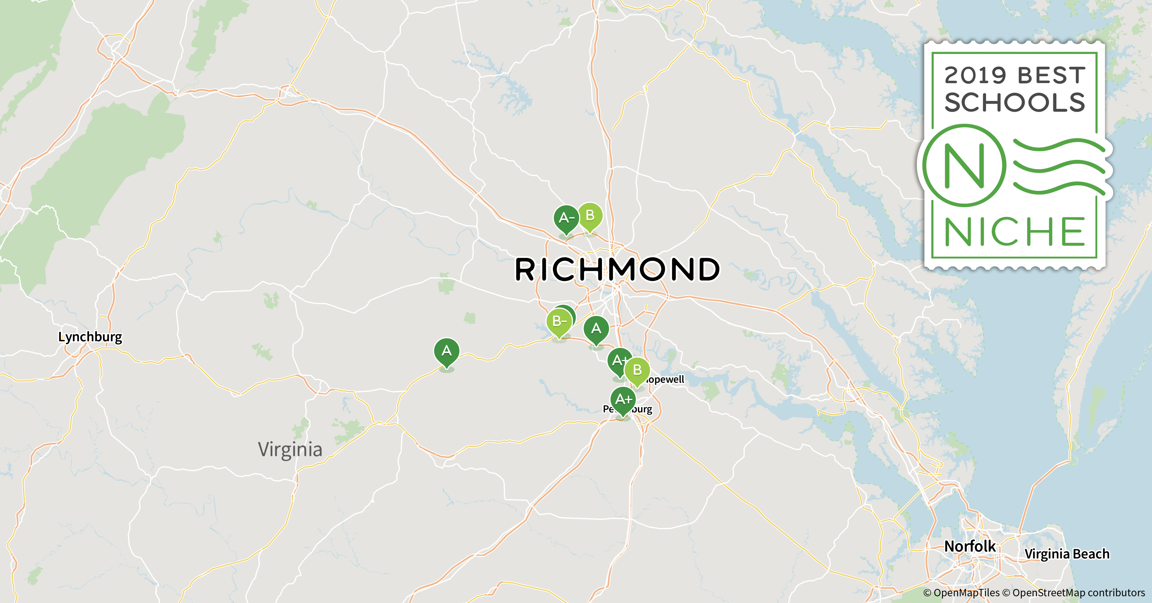 2019 Best Public High Schools In The Richmond Area - Niche - Richmond Texas Map