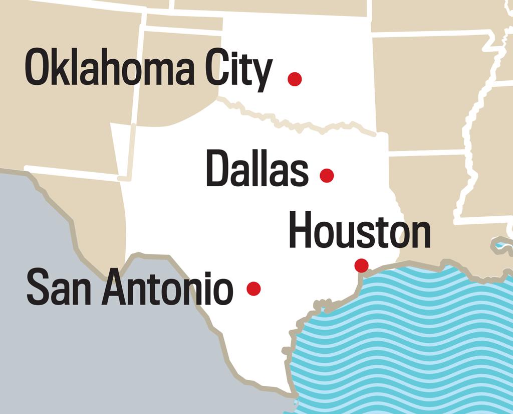 2019 Long Range Weather Forecast For Austin, Tx   Old Farmer's Almanac - Texas Forecast Map