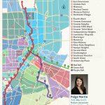 2019 Update: Houston Metro Rail Map   Neighborhoods Near Metrorail   Show Me Houston Texas On The Map