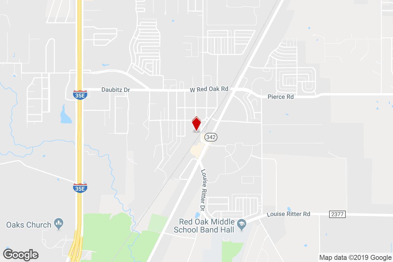 203 L B St, Red Oak, Tx, 75154 - Portfolio For Sale On Loopnet - Red Oak Texas Map
