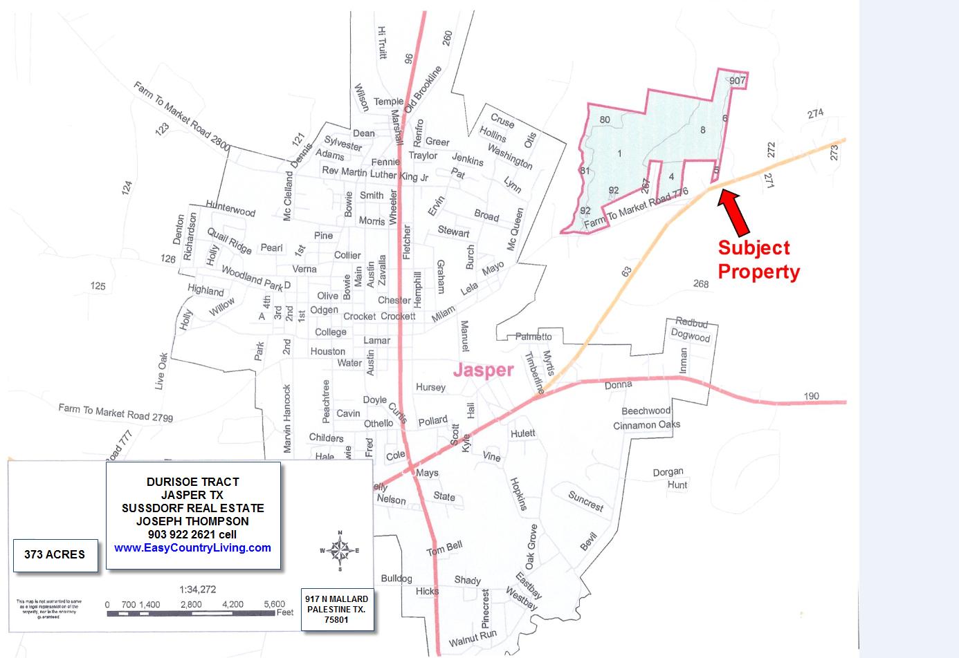 21 Acres In Jasper County, Texas - Jasper County Texas Parcel Map