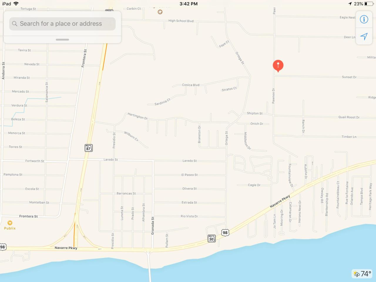 2300 Pawnee Drive, Navarre, Fl 32566 (Mls #810765) :: Scenic - Navarre Florida Map