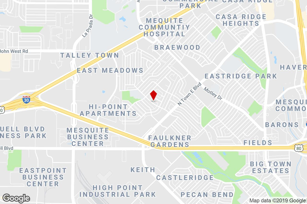 2420 Bamboo St, Mesquite, Tx, 75150 - Residential Income Property - Google Maps Mesquite Texas