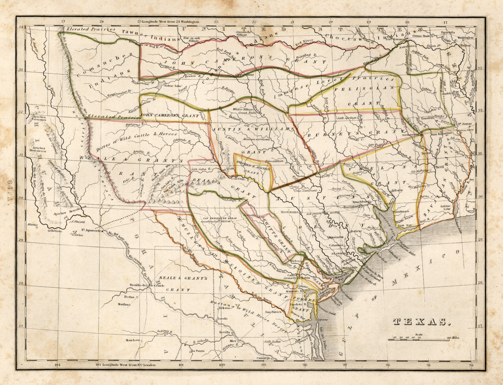 25 Awesome Maps That Help Explain Texas - Houston Chronicle - Republic Of Texas Map Overlay