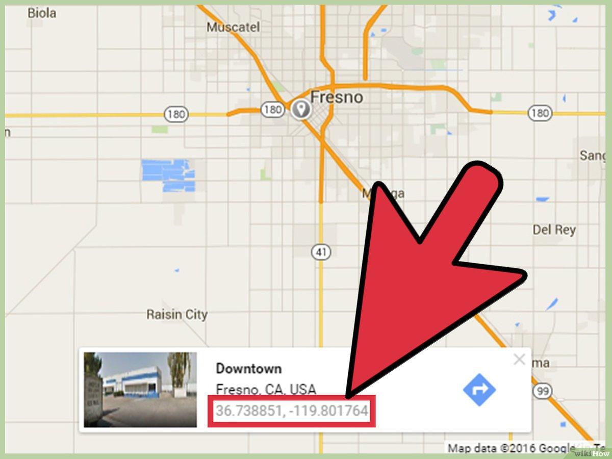 3 Manières De Obtenir La Latitude Et La Longitude Sur Google Maps - Fresno California Google Maps