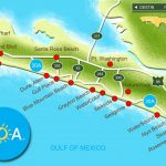 30A South Walton Interactive Map. Take A Virtual Tour Of The Beach   Blue Mountain Beach Florida Map