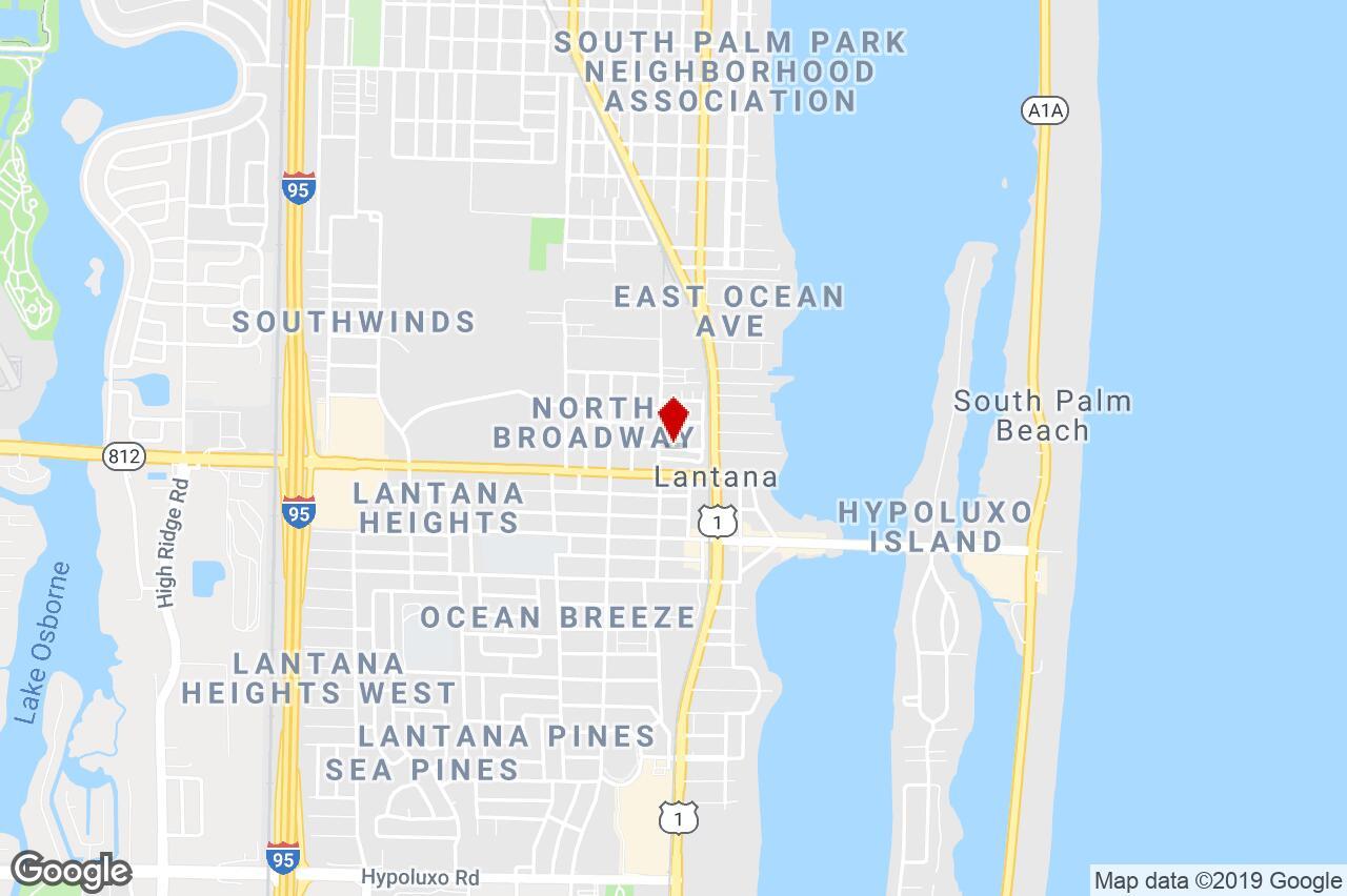 329-323-315-307 Melody Lane, Lantana, Fl, 33462 - Garden/low-Rise - Lantana Florida Map