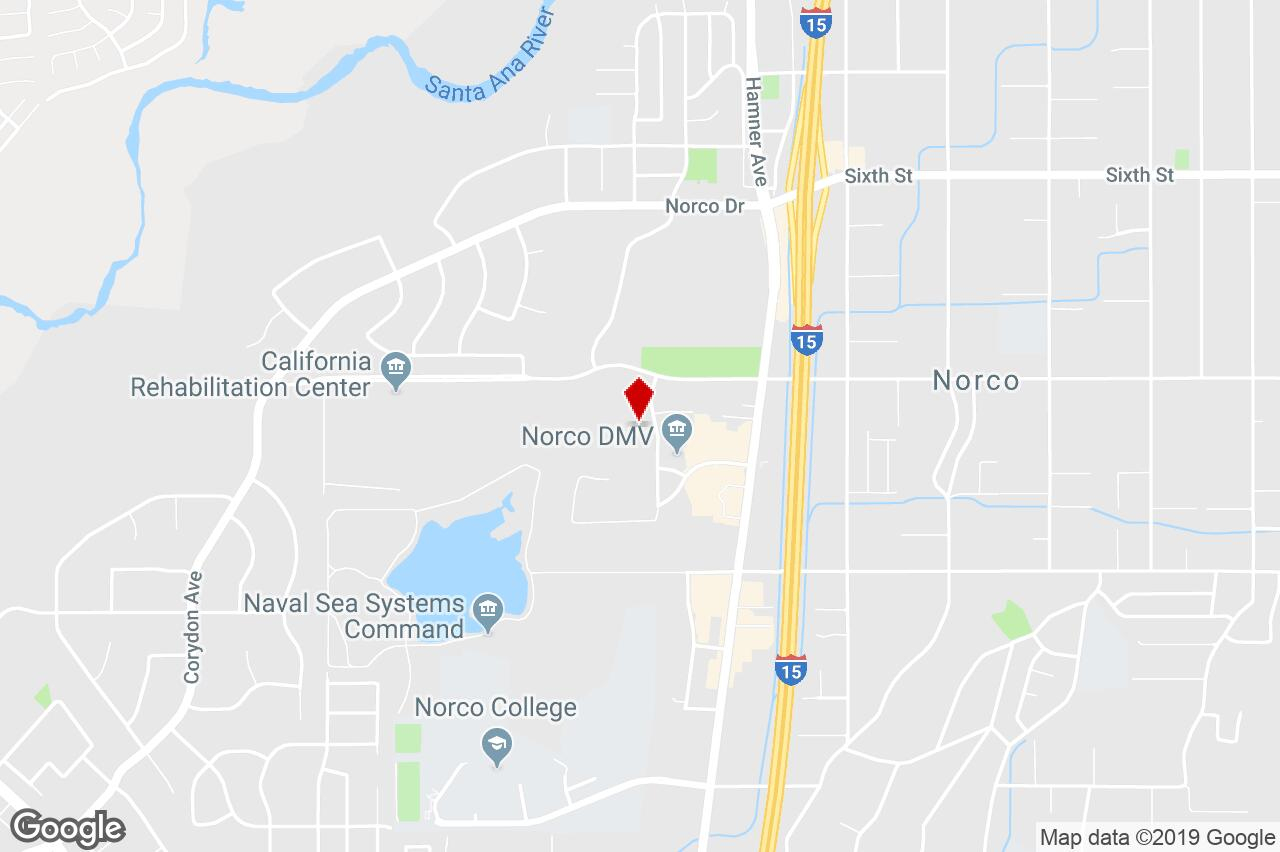 3300 Horseless Carriage Dr, Norco, Ca, 92860 - Warehouse Property - Norco California Map