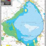 334 Lake Okeechobee   Kingfisher Maps, Inc.   Avenza Maps   Fishing Map Of Lake Okeechobee Florida