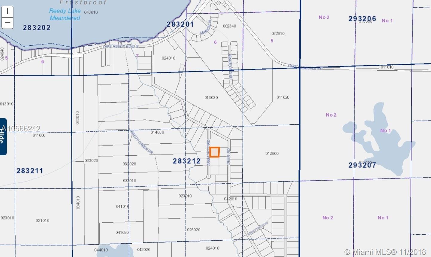 36 Armadillo Rd, Frostproof, Fl 33843 - Lot/land - Mls #a10566242 - Frostproof Florida Map