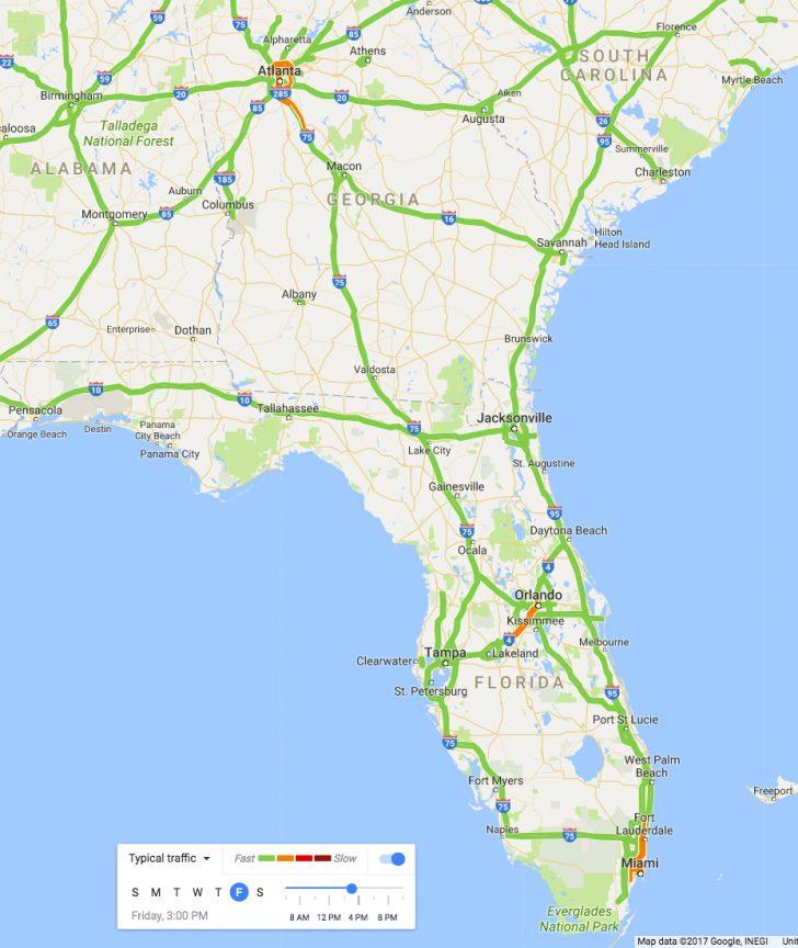 Florida Traffic Map