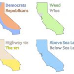4 Ways To Divide California (Oc) : Bayarea – Divide California Map