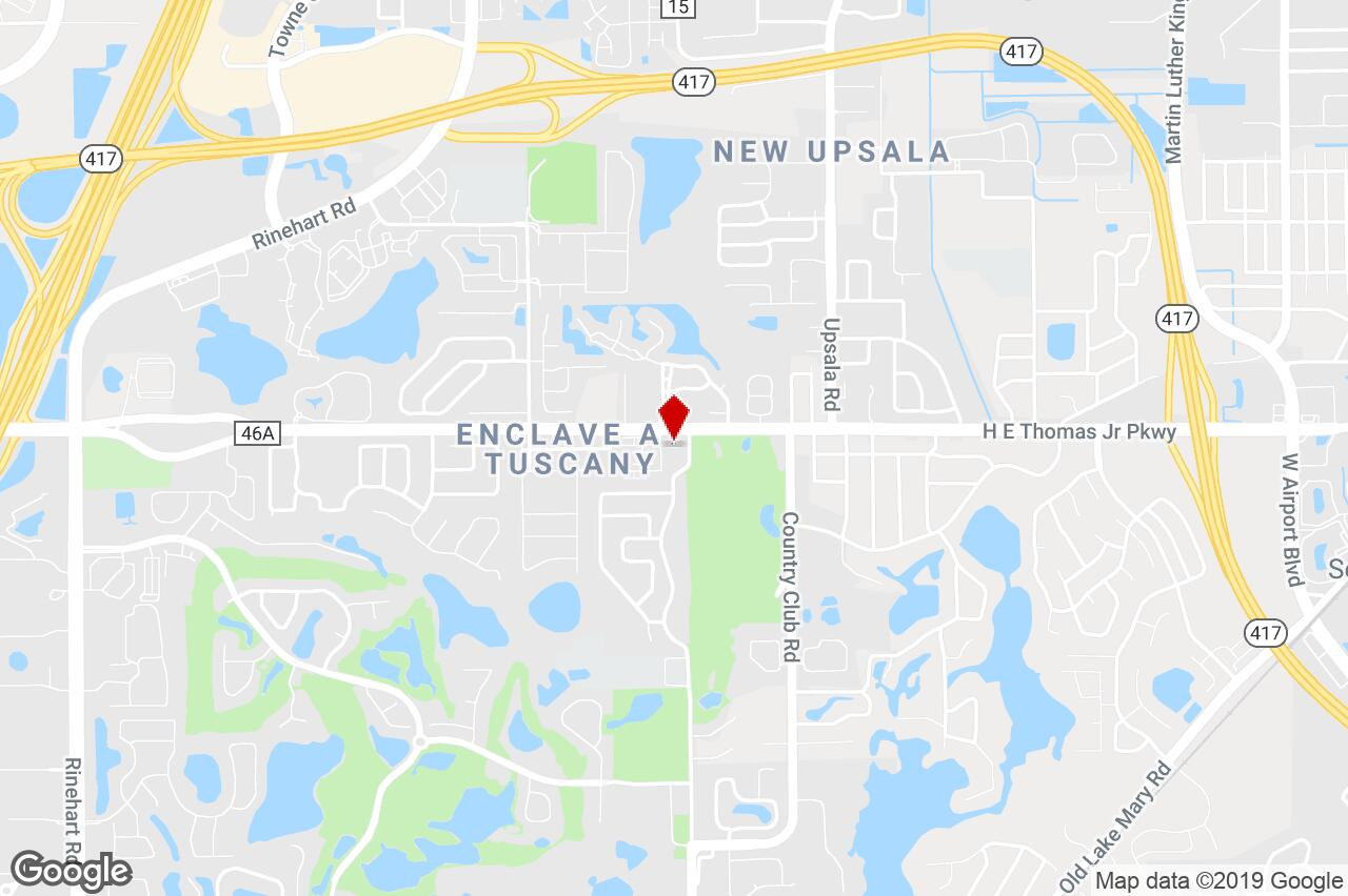 4095 Cr 46-A, Lake Mary, Fl, 32746 - Commercial/other (Land - Map Of Lake Mary Florida And Surrounding Areas
