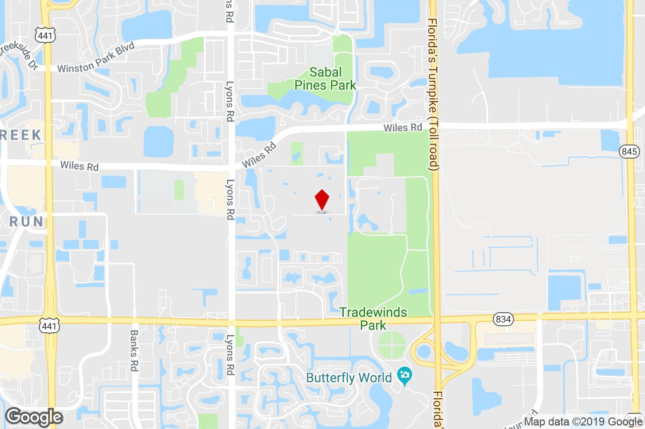 4161 N.w. 43Rd Street, Coconut Creek, Fl, 33073 - Agricultural - Coconut Creek Florida Map