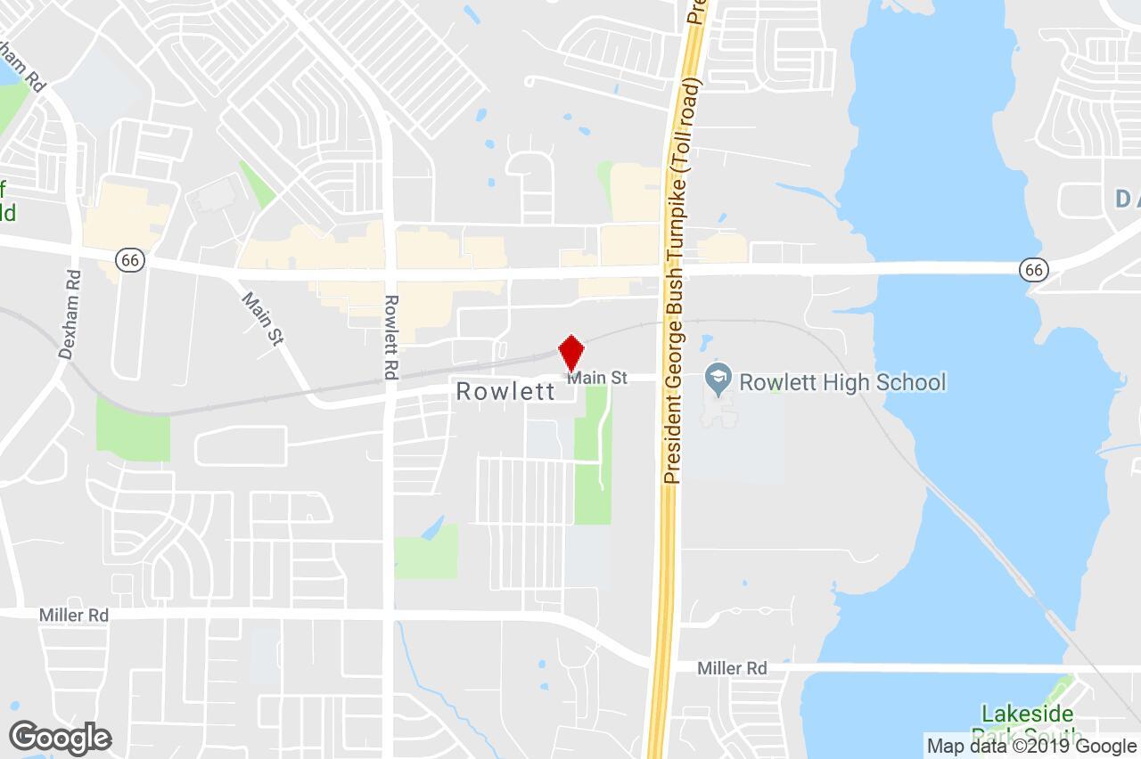 4310 Main Street, Rowlett, Tx, 75088 - Commercial/other (Land - Rowlett Texas Map
