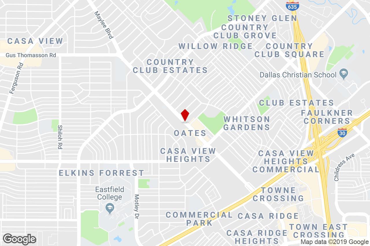 4645 Gus Thomasson Rd, Mesquite, Tx, 75150 - Free Standing Bldg - Google Maps Mesquite Texas