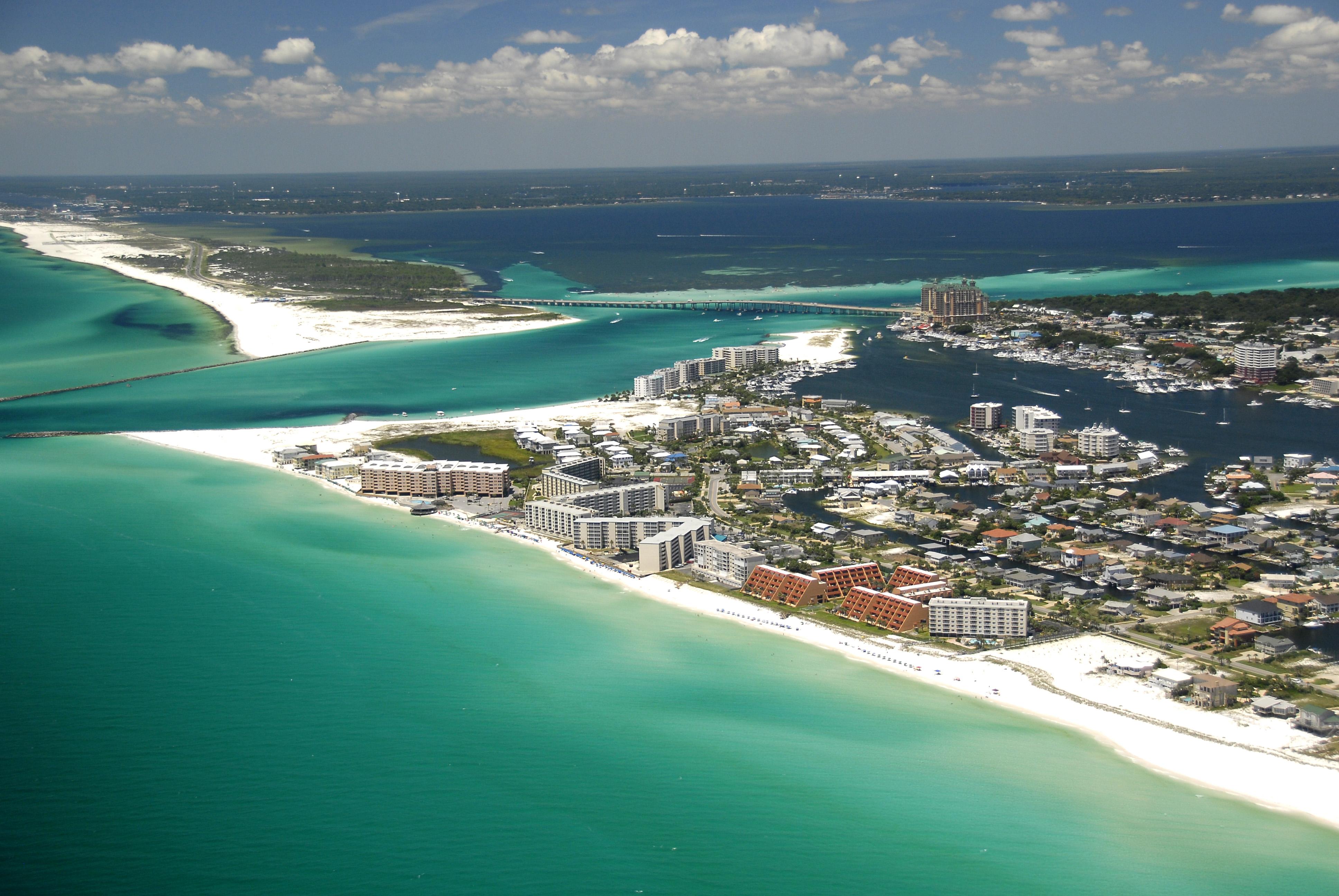 5 Emerald Coast Beaches With Sugar White Sand | Visit Florida - Emerald Coast Florida Map