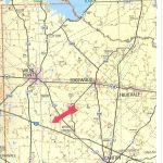 54 Acres In Van Zandt County, Texas   Van Zandt County Texas Map