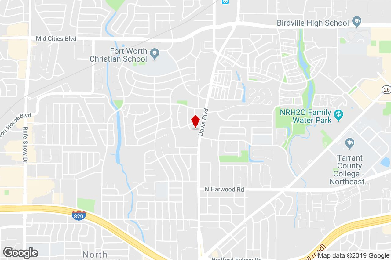 5587 Davis Blvd, North Richland Hills, Tx, 76180 - Property For - North Richland Hills Texas Map