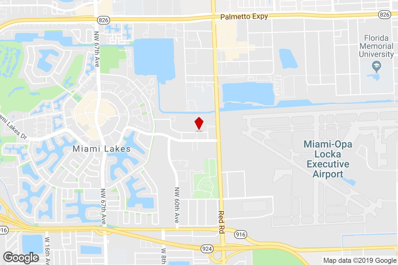 5779 Nw 151 Street, Miami Lakes, Fl, 33014 - Flex Space Property For - Miami Lakes Florida Map