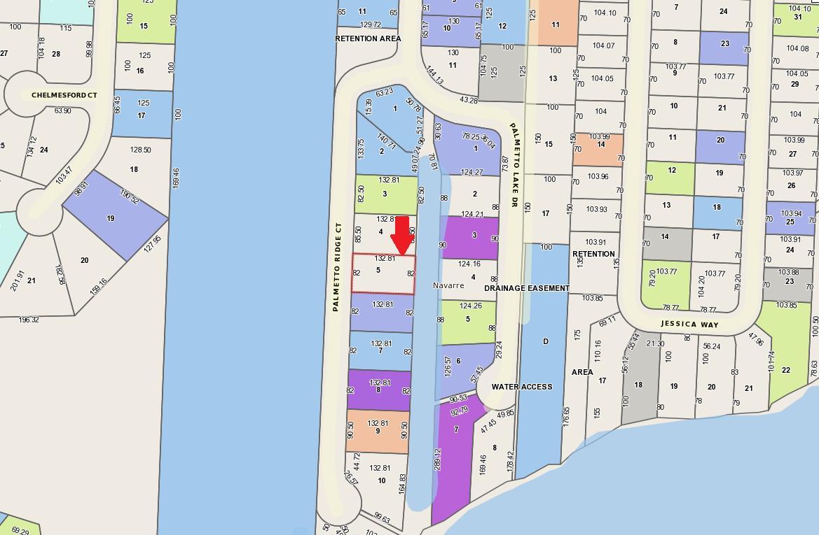 5D Palmetto Ridge Ct, Navarre, Fl 32566 - Mls 797682 - Coldwell - Navarre Florida Map