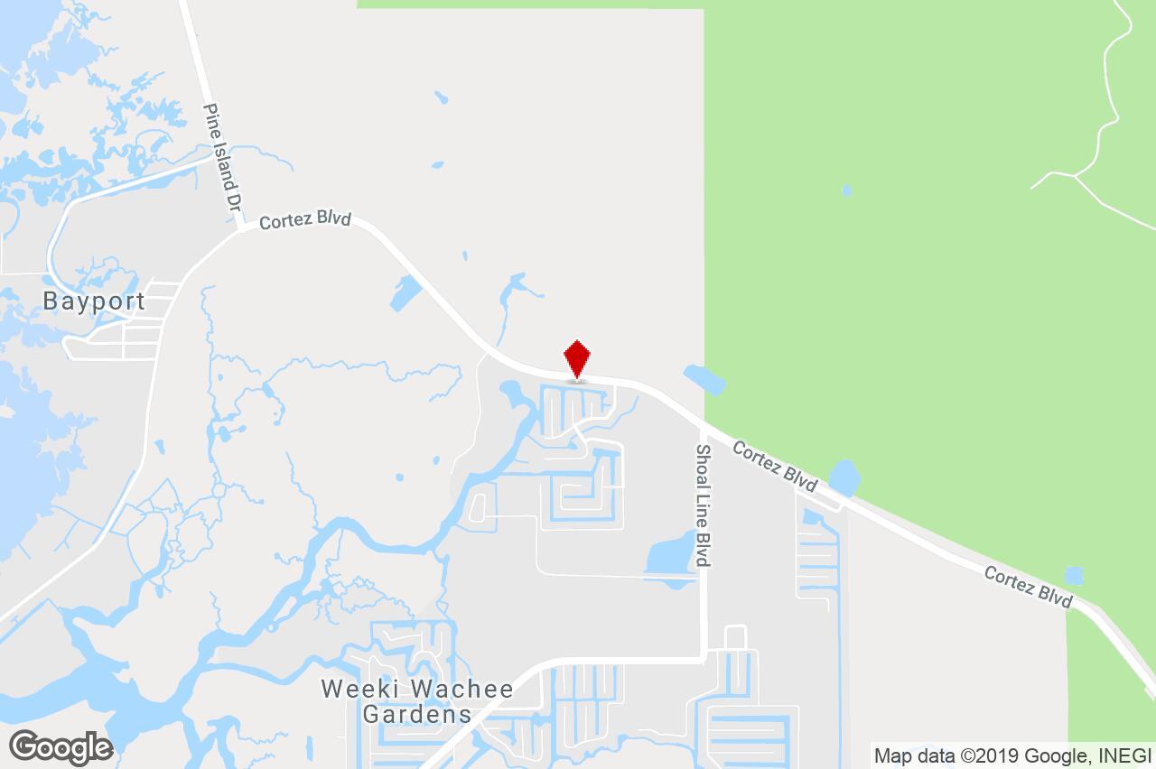 6024 Cortez Blvd., Brooksville, Fl, 34607 - Restaurant Property For - Brooksville Florida Map